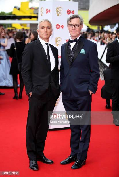 Ben Miles and Alex Jennings attend the Virgin TV BAFTA Television Awards at The Royal Festival Hall on May 14 2017 in London England Photo by Mike...