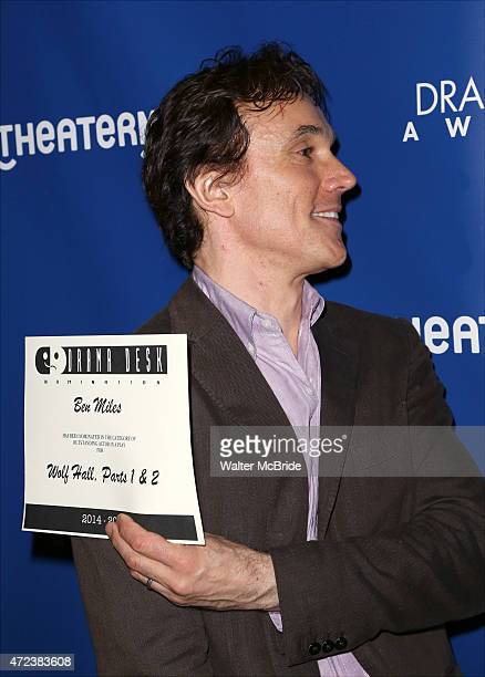 Ben Miles attends the 2015 Drama Desk Awards Nominee Reception at New World Stages on May 6, 2015 in New York City.