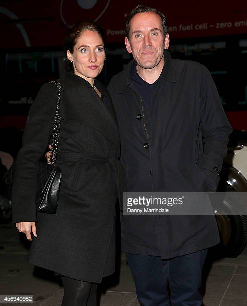 Ben Miller and Jessica Parker attend the launch of The Mondrian Hotel at Mondrian Hotel on October 9 2014 in London England