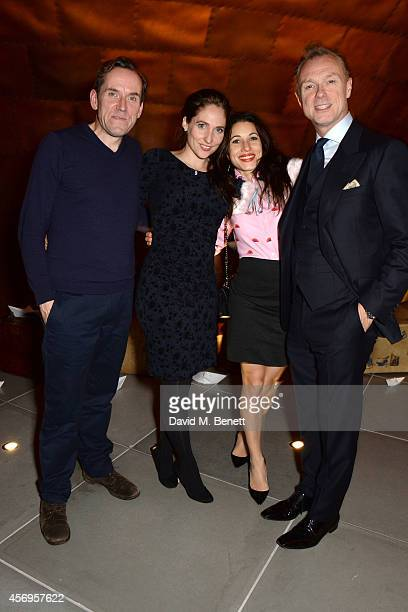 Ben Miller Jessica Parker Lauren Kemp and Gary Kemp attend the launch party as Mondrian London opens its doors on London's South Bank at Mondrian...