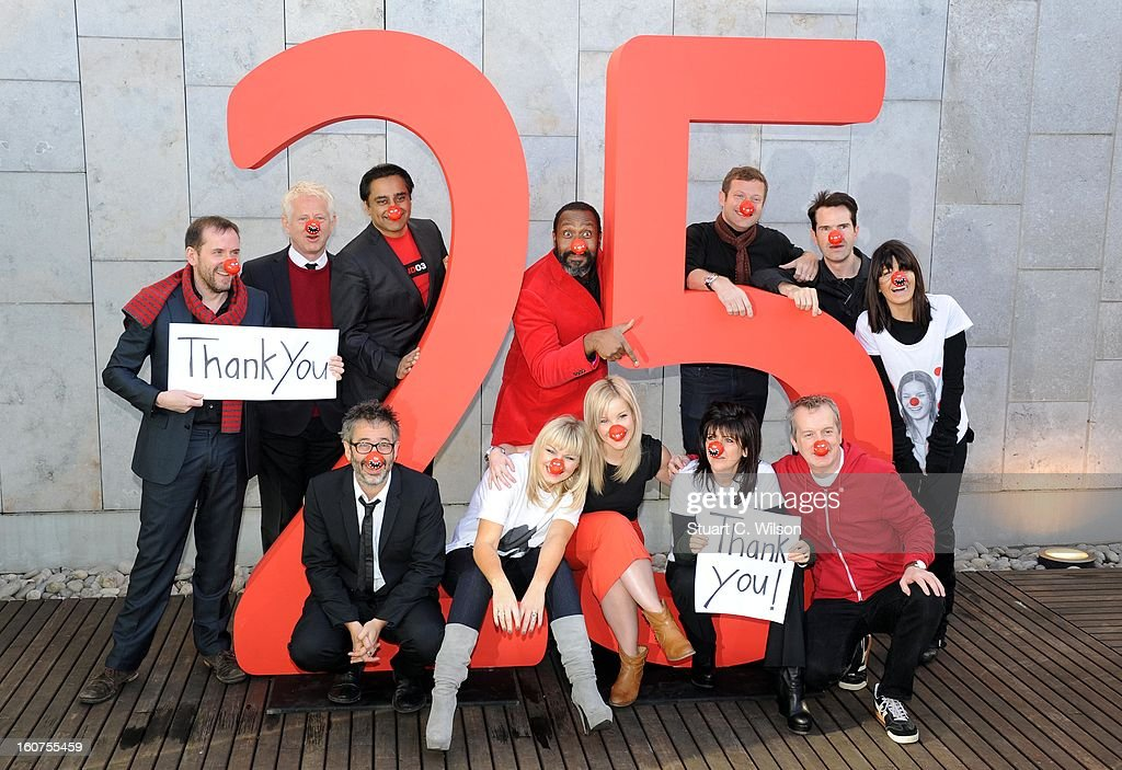 25 Years Of Comic Relief's Red Nose Day - Photocall