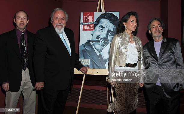 Ben Model George Schlatter Jolene Brand and Harry Shearer attend The American Cinematheque Presents In Kovacsland A Tribute To Ernie Kovacs on August...