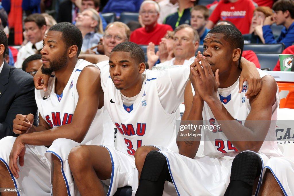AAC Basketball Tournament - Quarterfinal Round - Houston v SMU : News Photo