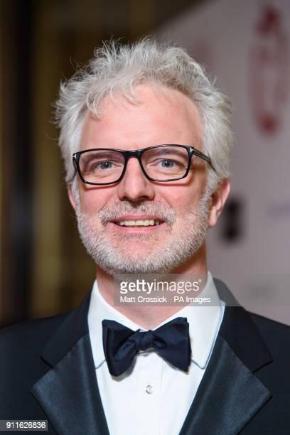 Ben Morris arriving at the London Film Critics Circle Awards 2017 the May Fair Hotel London