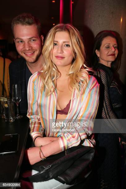 Ben Muenchow and Luna Schweiger daughter of Til Schweiger in undonelook during the BUNTE BMW Festival Night 2017 during the 67th Berlinale...