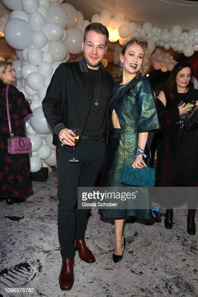 Ben Muenchow Caro Cult during the PLACE TO B Berlinale party of BILD at Borchardt Restaurant on February 9 2019 in Berlin Germany