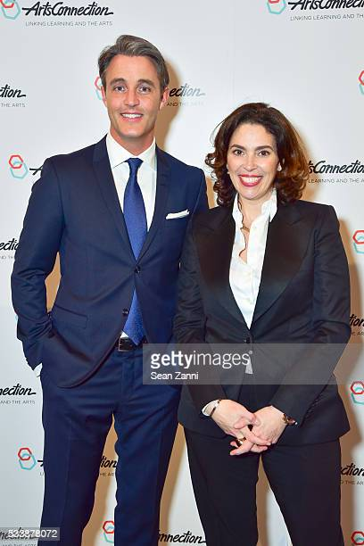 Ben Mulroney and Amy Cappellazzo attend ArtsConnection 2016 Benefit Celebration at 583 Park Avenue on May 23 2016 in New York City