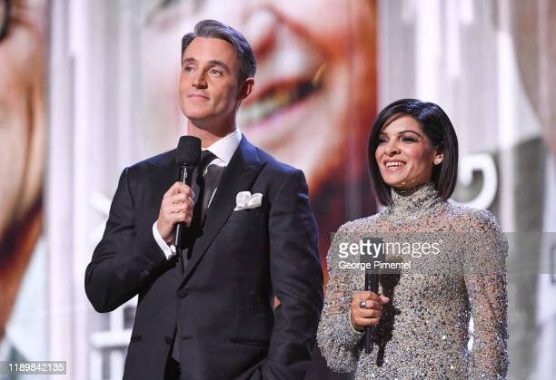 Ben Mulroney and Anne Marie Mediwake host the 2019 Canada's Walk Of Fame at Metro Toronto Convention Centre on November 23 2019 in Toronto Canada