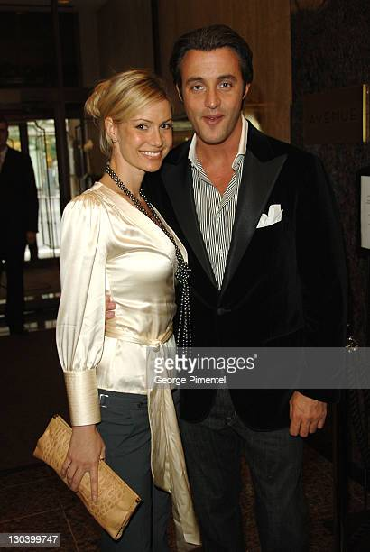Ben Mulroney and guest during 31st Annual Toronto International Film Festival George Christie Party at Four Seasons Hotel in Toronto Ontario Canada
