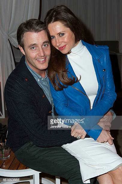Ben Mulroney and Jessica Mulroney attend the Oh Canada Cocktail Party to benefit the new Canadian Museum for Human Rights at the Peninsula Hotel on...