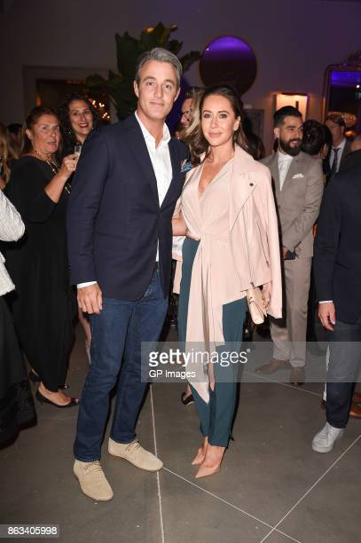 Ben Mulroney and Jessica Mulroney attend the opening celebration of RH Restoration Hardware The Unveiling Of RH Toronto The Gallery At Yorkdale...