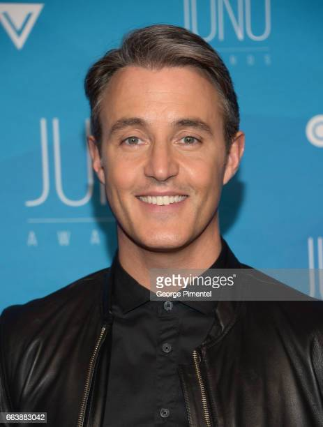 Ben Mulroney arrives at the 2017 Juno Awards at Canadian Tire Centre on April 2 2017 in Ottawa Canada