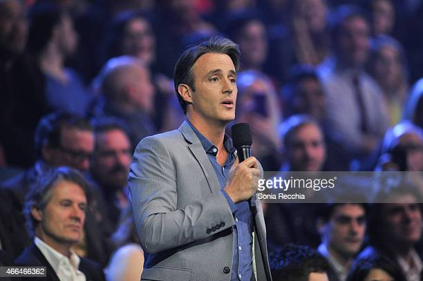 Ben Mulroney attends the 2015 JUNO Awards at FirstOntario Centre on March 15 2015 in Hamilton Canada