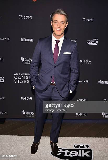 Ben Mulroney attends the 3rd Annual An Evening With Canada's Stars at Four Seasons Hotel Los Angeles at Beverly Hills on February 25 2016 in Los...
