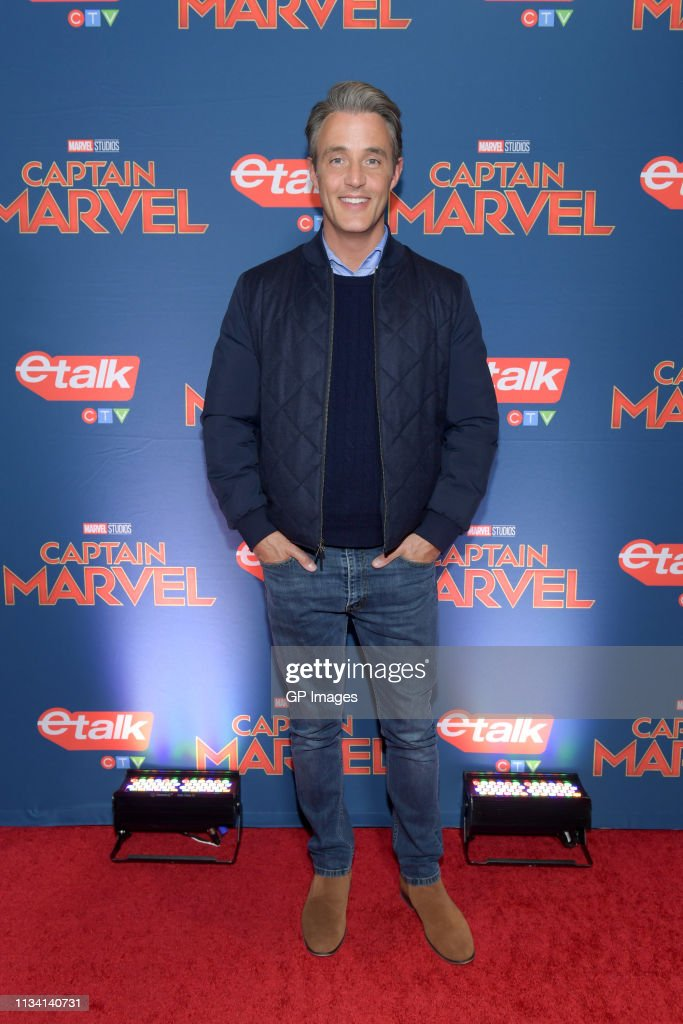 'Captain Marvel' Canadian Premiere : News Photo