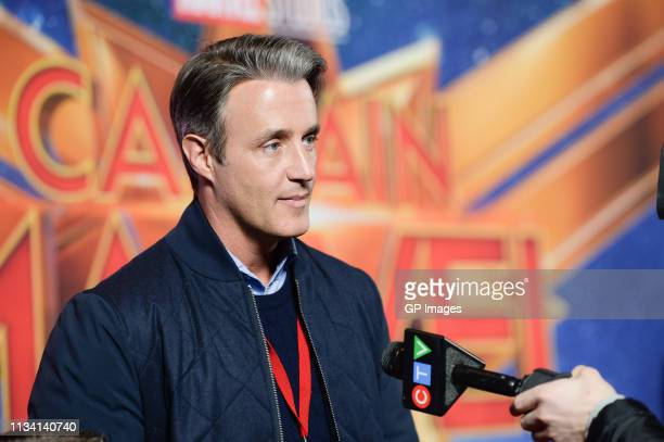Ben Mulroney attends the 'Captain Marvel' Canadian Premiere held at Scotiabank Theatre on March 06 2019 in Toronto Canada