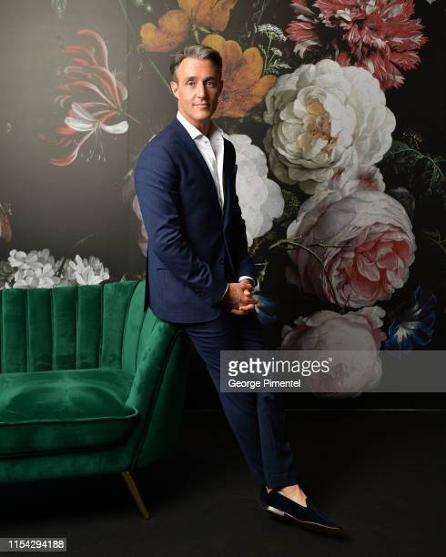 Ben Mulroney poses at the CTV Upfront Portrait Studio at Sony Centre For Performing Arts on June 06 2019 in Toronto Canada