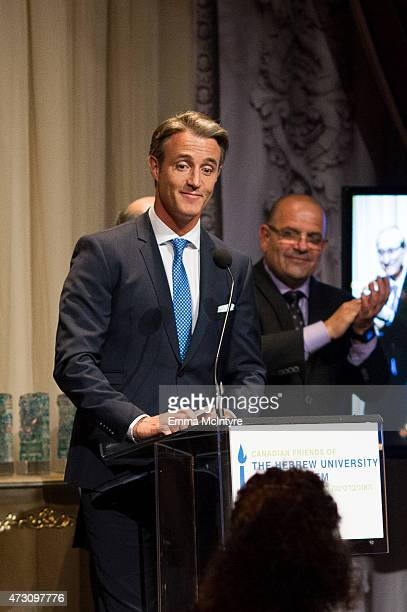 Ben Mulroney speaks at the Einstein Legacy Awards at Liberty Grand on May 12 2015 in Toronto Canada