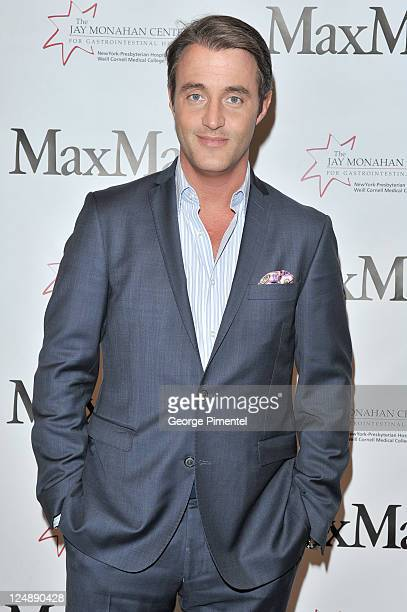 Ben Murloney attends the MaxMara Event at the MaxMara store on Bloor St on September 13 2011 in Toronto Canada