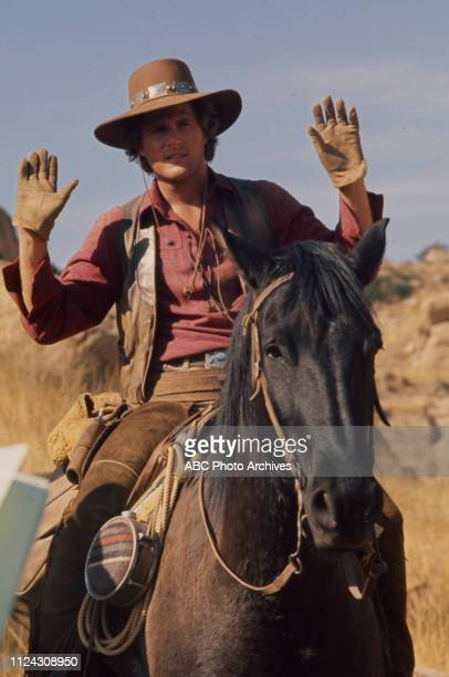 Ben Murphy appearing in the Walt Disney Television via Getty Images series 'Alias Smith and Jones'