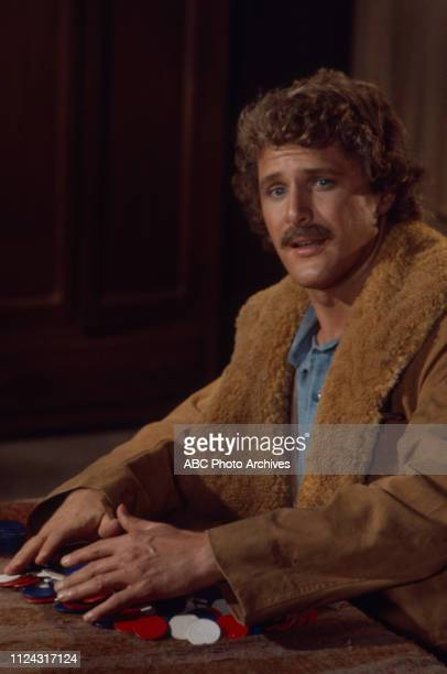 Ben Murphy appearing in the Walt Disney Television via Getty Images series 'Alias Smith and Jones' episode 'Night of the Red Dog'