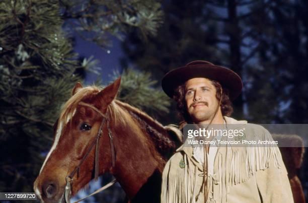 Ben Murphy appearing in the western / period piece ABC tv movie 'Bridger'.