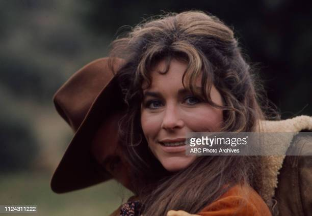 Ben Murphy Michele Carey appearing in the Walt Disney Television via Getty Images series 'Alias Smith and Jones' episode 'A Fistful of Diamonds'