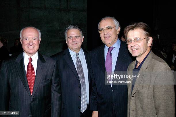 Ben Needell Joe DiMenna Norman Benzaquen and Mikhail Baryshnikov attend THE ORCHESTRA OF ST LUKE'S Announces Creation of Music Resource Between THE...