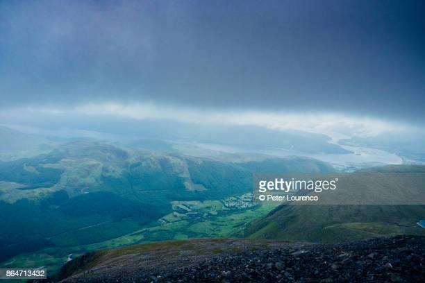 Ben Nevis summit view