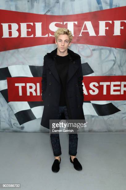 Ben Nordberg attends the Belstaff AW18 Mens Womens Presentation during London Fashion Week Men's January 2018 on January 8 2018 in London England