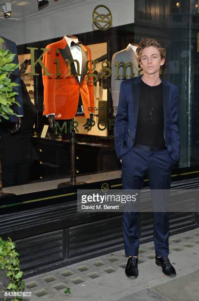 Ben Nordberg attends the launch of the 'Kingsman' shop on St James's Street in partnership with MR PORTER MARV Twentieth Century Fox in celebration...