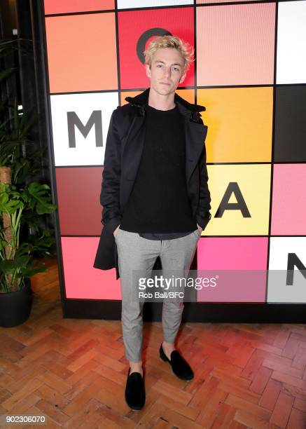 Ben Nordberg attends the TOPMAN LFWM Party during London Fashion Week Men's January 2018 at Mortimer House on January 7 2018 in London England