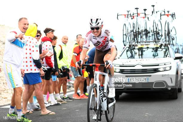 Ben O'connor of Australia and AG2R Citroën Team during the 108th Tour de France 2021, Stage 11 a 198,9km km stage from Sorgues to Malaucène / Mont...