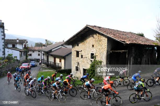 Ben O'connor of Australia and NTT Pro Cycling Team / Francois Bidard of France and Team Ag2R La Mondiale / Geoffrey Bouchard of France and Team Ag2R...