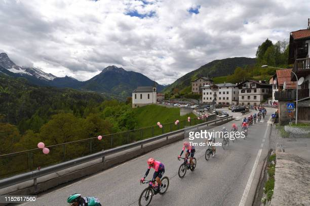 Ben O'Connor of Australia and Team Dimension Data / Hugh Carthy of United Kingdom and Team EF Education First / Valle di Cadore / Mountains /...