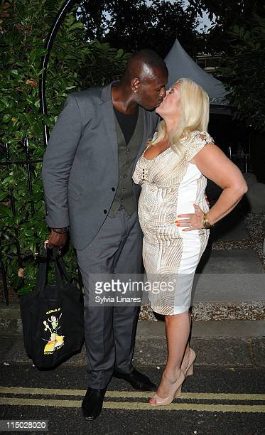 Ben Ofoedu and Vanessa Feltz attends the launch of Agatha Relota's book 'Carla Leo's World of Dance' at The Hempel Hotel on June 1 2011 in London...