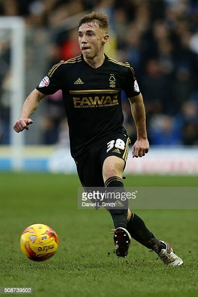 Ben Osborn of Nottingham Forest FC during the Sky Bet Championship match between Leeds United and Nottingham Forest on February 6 2016 in Leeds...