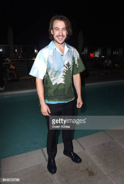 Ben O'Toole attends Prada And Flaunt Celebrate The Aftershock Issue New America on September 7 2017 in Los Angeles California