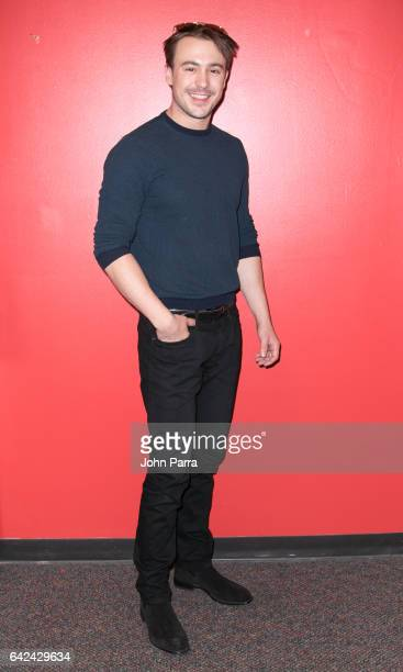 Ben O'Toole visits the Enrique Santos Show at I Heart Latino Tu949 on February 17 2017 in Miami Florida