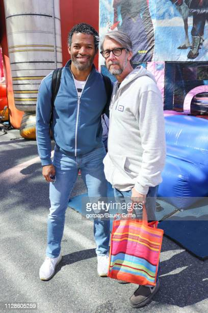 Ben Patterson and Alan Ruck are seen on March 03 2019 in Los Angeles California