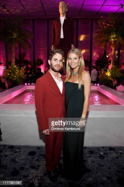 Ben Platt and Gwyneth Paltrow attend Netflix's The Politician Season One Premiere After Party at THE POOL on September 26 2019 in New York City