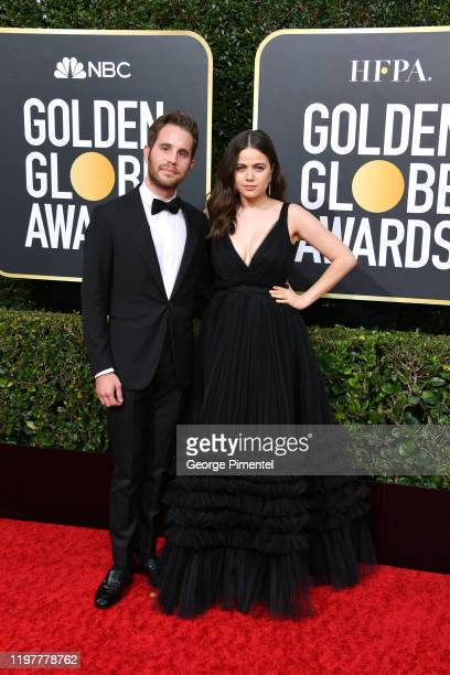 Ben Platt and Molly Gordon attend the 77th Annual Golden Globe Awards at The Beverly Hilton Hotel on January 05 2020 in Beverly Hills California