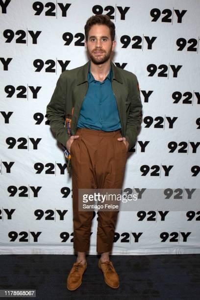Ben Platt attends Ben Platt In Conversation with Judith Light at 92nd Street Y on October 02 2019 in New York City