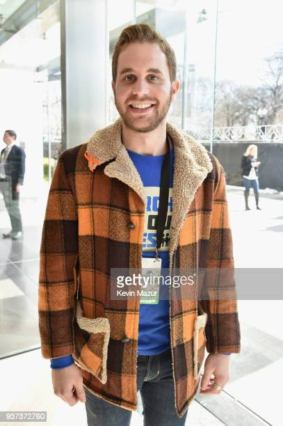 Ben Platt attends March For Our Lives on March 24 2018 in Washington DC