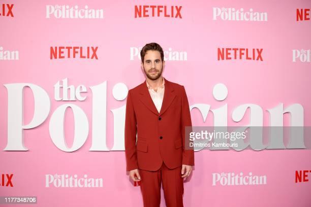"Ben Platt attends Netflix's ""The Politician"" Season One Premiere at DGA Theater on September 26, 2019 in New York City."