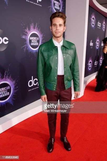 Ben Platt attends the 2019 American Music Awards at Microsoft Theater on November 24 2019 in Los Angeles California