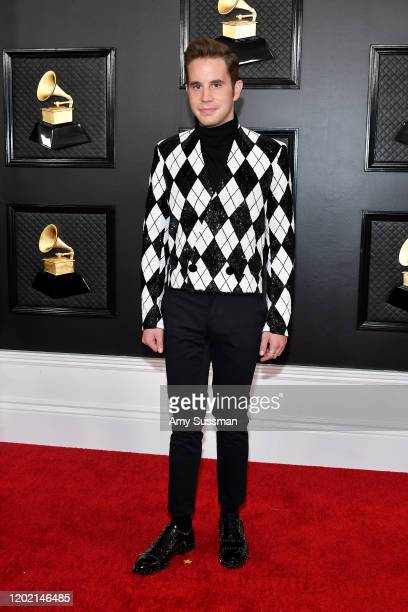 Ben Platt attends the 62nd Annual GRAMMY Awards at Staples Center on January 26, 2020 in Los Angeles, California.