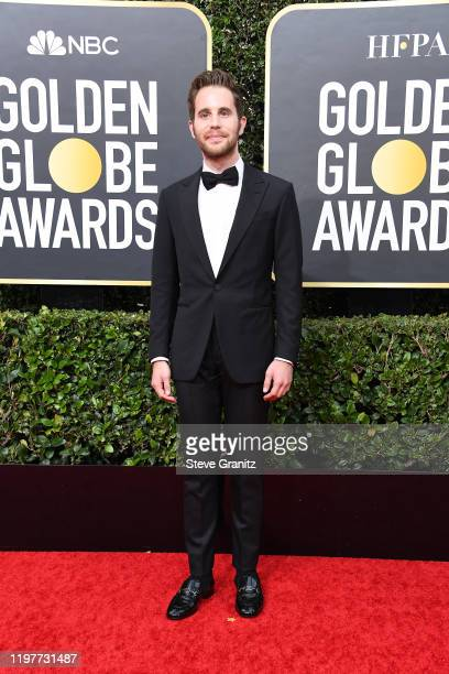 Ben Platt attends the 77th Annual Golden Globe Awards at The Beverly Hilton Hotel on January 05 2020 in Beverly Hills California