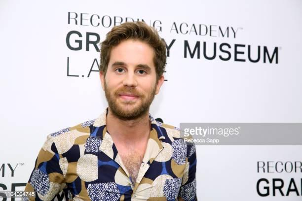 Ben Platt attends The Drop: Ben Platt at the GRAMMY Museum on July 24, 2019 in Los Angeles, California.