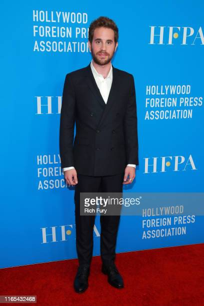Ben Platt attends the Hollywood Foreign Press Association's Annual Grants Banquet at Regent Beverly Wilshire Hotel on July 31, 2019 in Beverly Hills,...